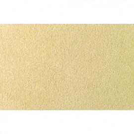 Semišový koberec, barva krémová