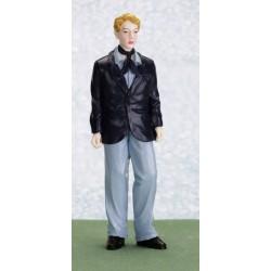 Mladík v obleku