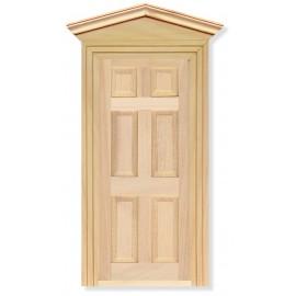 Exteriérové dveře, včetně 2 rámů, bez povrchové úpravy